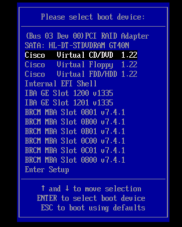 Upgrading firmware and bios on Cisco's C220/C240 series servers